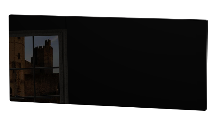 Knightsbridge Black Gloss Black
