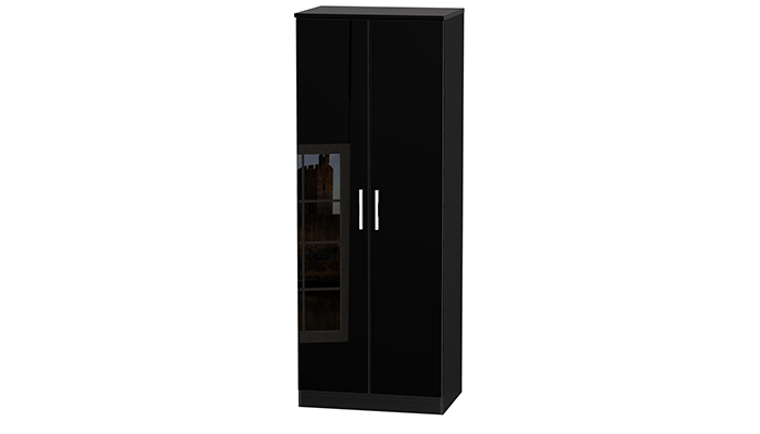 TALL 2ft6in 2 DRAWER HANGING ROBE