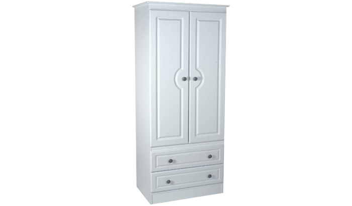 Tall 2ft 6in 2 Drawer Robe